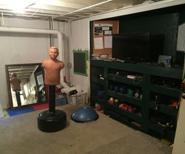 Fitness/Workout Room From Thrift Stores