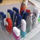 Data stick organizer upcycle your blueberry box