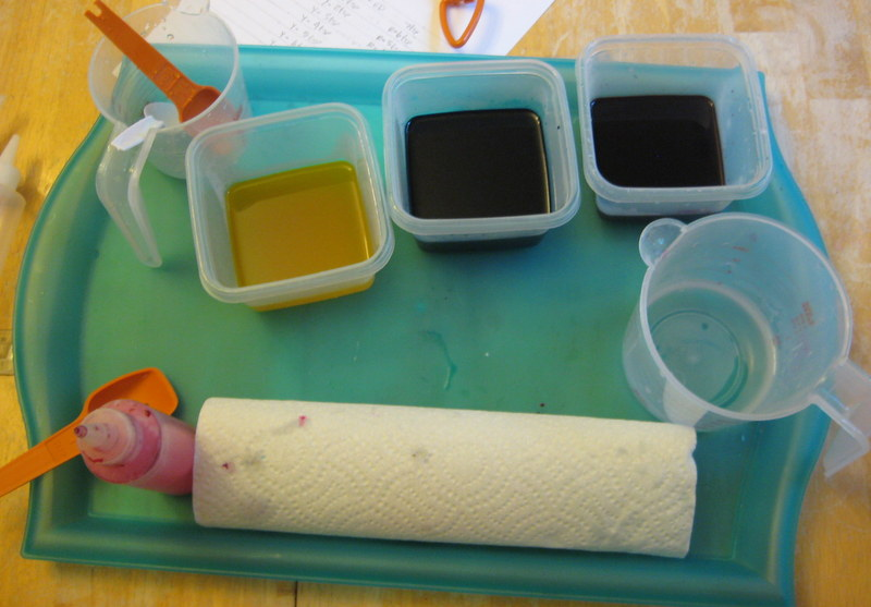 Picture of Mix Dyes.