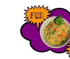 Fun, Easy Vegan Fried Rice!