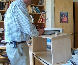 Folding Stand Up Desk (yet another)