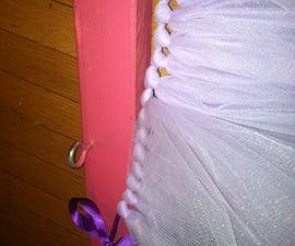 How to make a no-sew tutu