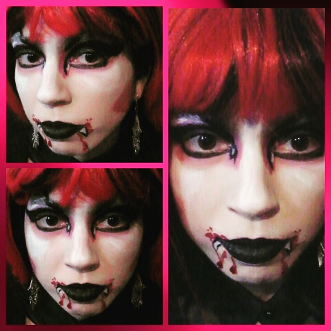 Picture of Red Vampiress Face Paint