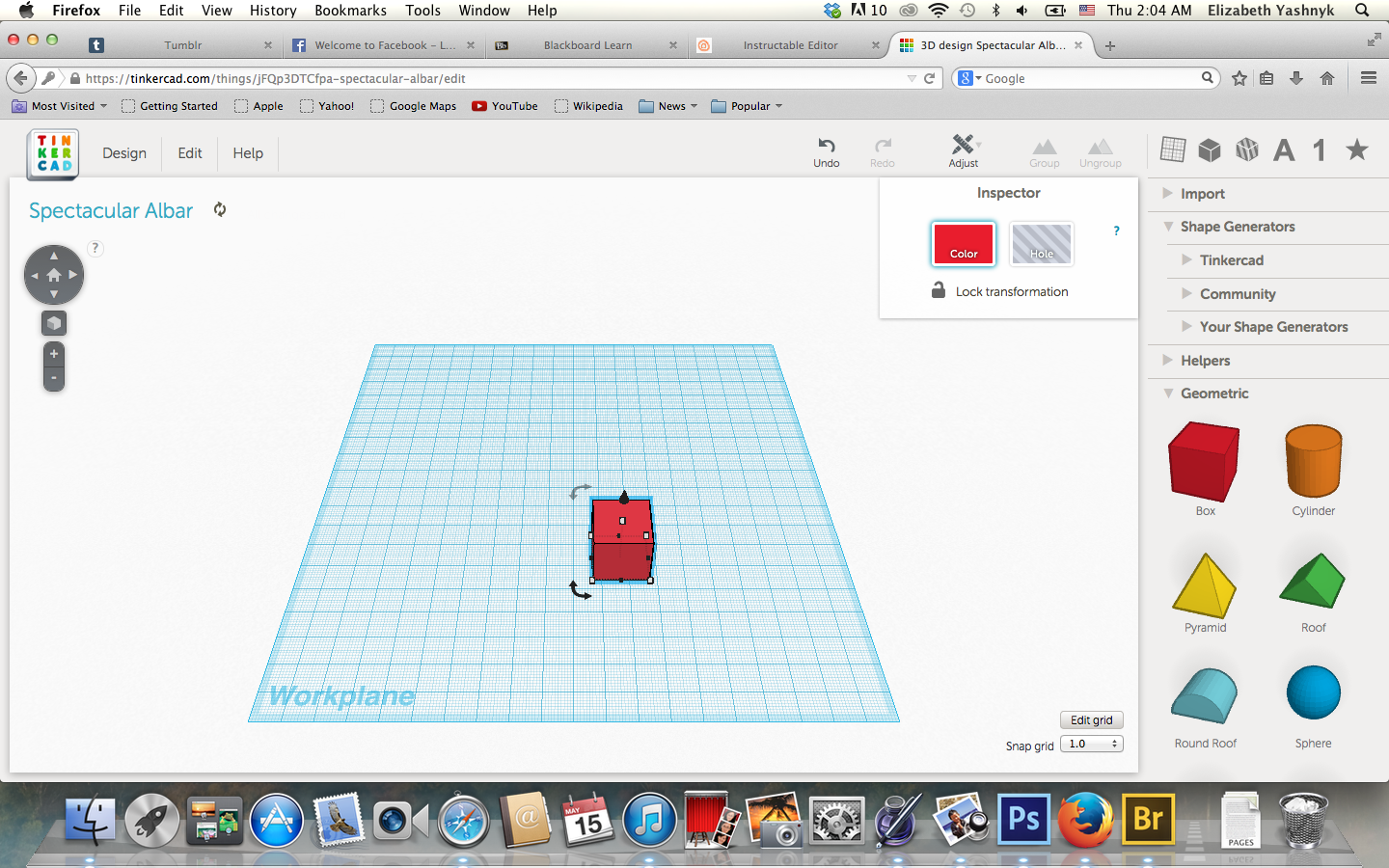 Picture of Step 4: Create a Shape