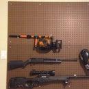 Pegboard Gun Wall