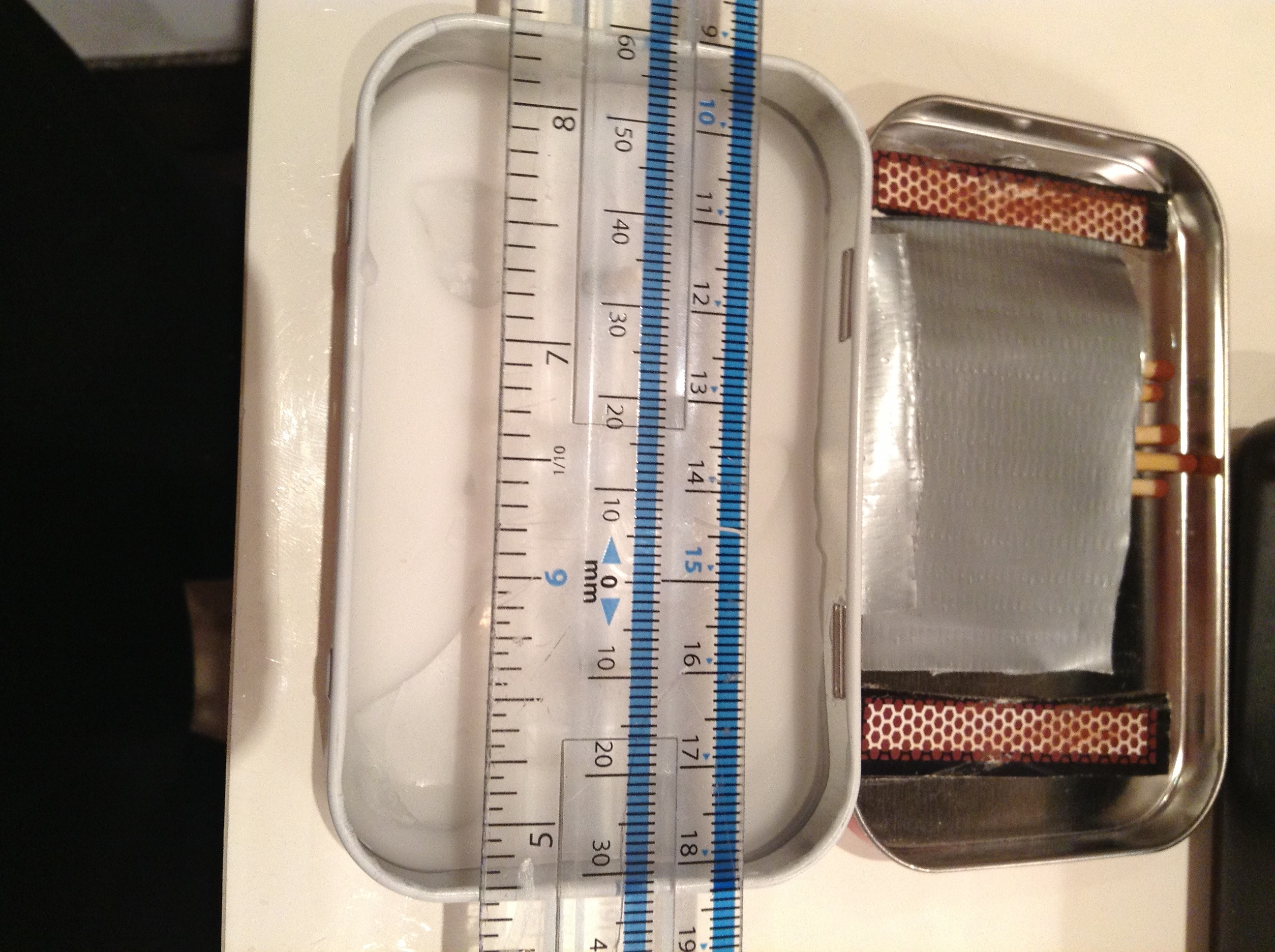 Picture of Cut and Measure the Holes