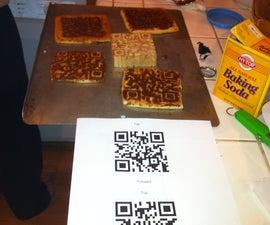Hidden QR Code Cookies