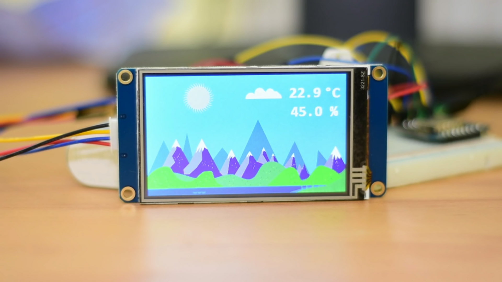 Picture of Arduino Weather Station With a Nextion Display