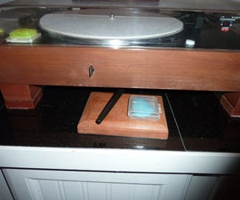 Block and Bar Vinyl Record Cleaner