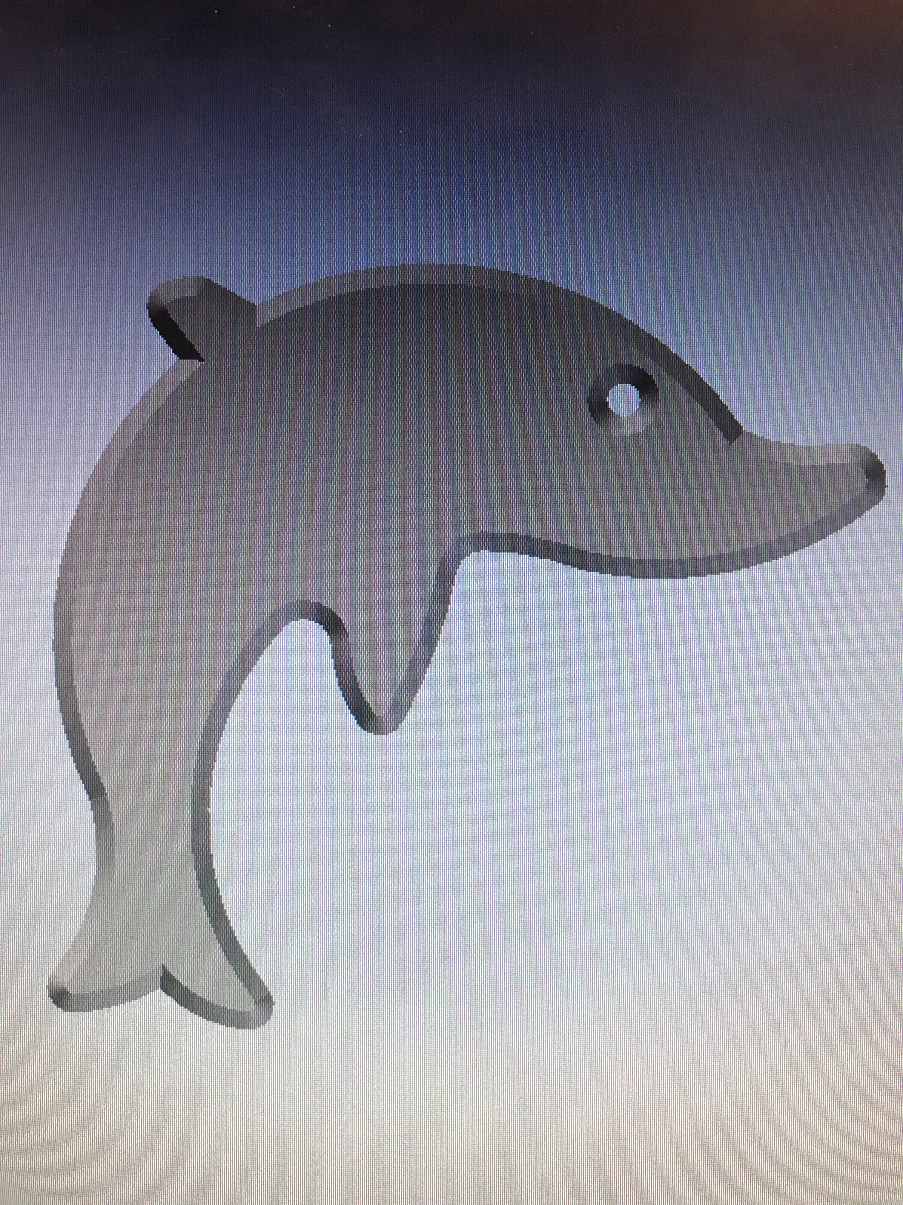 Picture of Extruding the Dolphin