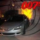 Make a James Bond Spy Car (w/ Weapons) and a Spy School Halloween Display