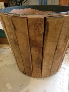 Picture of Wood Sheathed Flower Pot