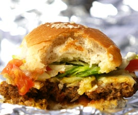 FULLY LOADED CHEESEBURGER SLIDERS (SUPER BOWL RECIPE)