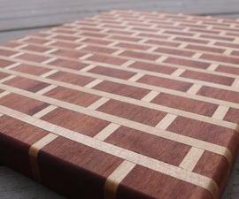 """Brick and Mortar"" Cutting Board"