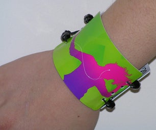 15 Minute Bracelet From Old ITunes Cards