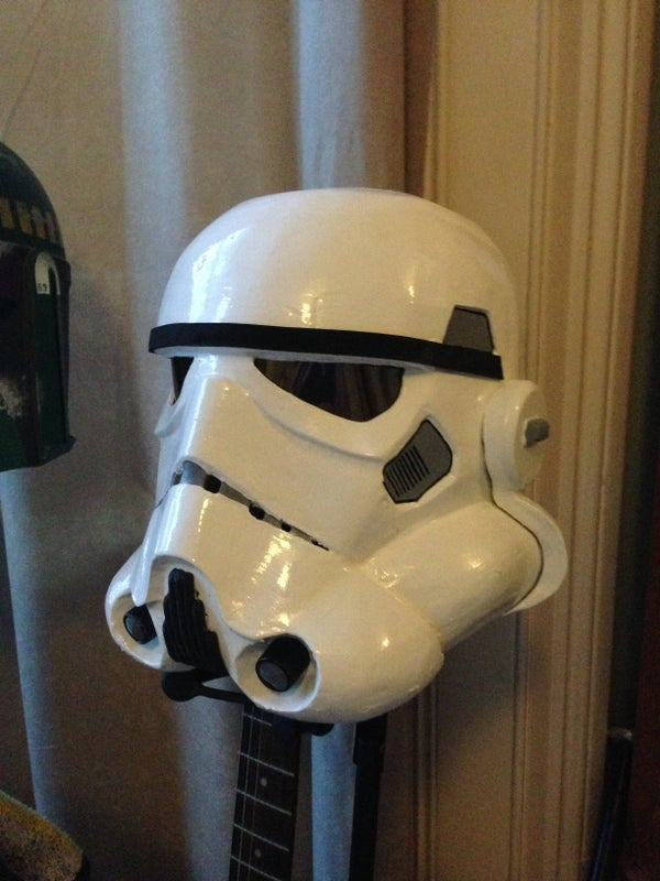 Stormtrooper Helmet ( on a Budget)