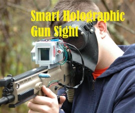 Smart Holographic Gun Sight With Arduino