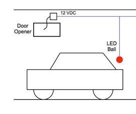 Garage Bay Parking Lights