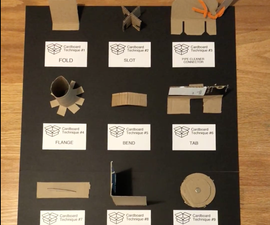 11 Ways to Cut and Connect Cardboard