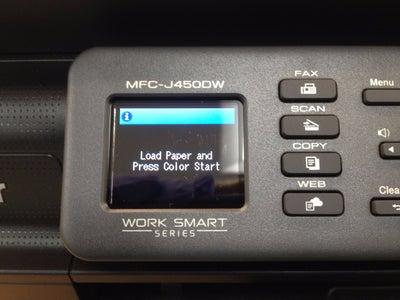 Set Up the Printer