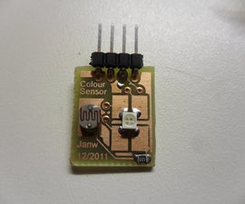 Build your own (at)tiny colour sensor.
