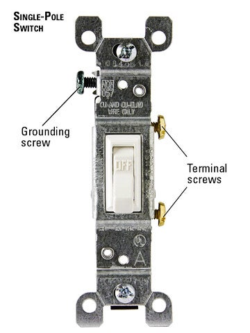 How can I wire a standard light switch to an extension cord?