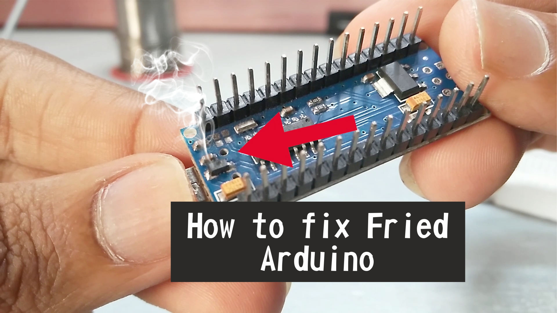 Picture of How to Fix Fried Arduino Nano/Uno/Mega