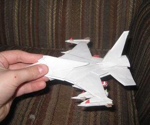 Awsome Paper Airplane Model!!!