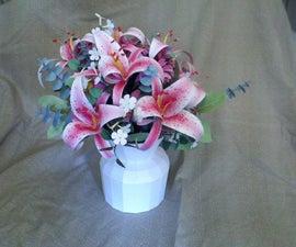 Papercraft Stargazer Lily Bouquet