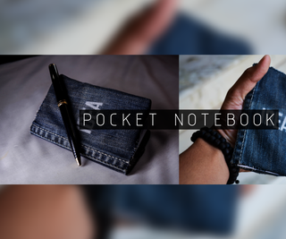 DIY- Cool Denim Pocket Notebook (with Pictures)