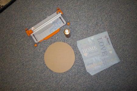 Materials for 12 Inch Diameter Basket