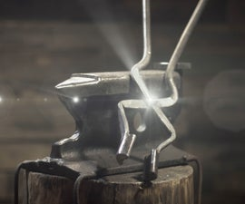 How to Make Blacksmith Tongs