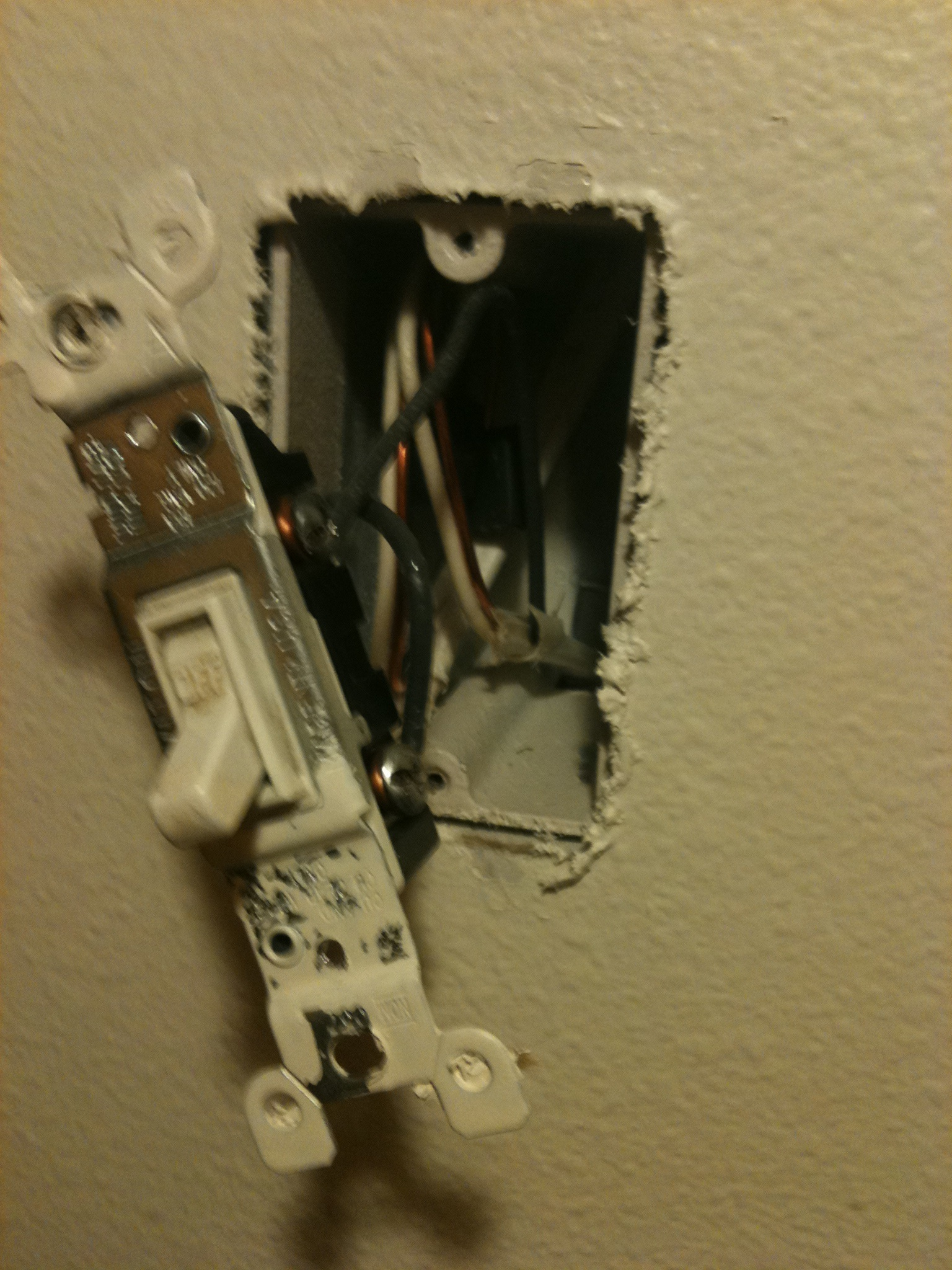 Picture of Remove the Old Switch: