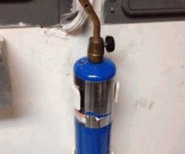 PVC Propane Torch mount