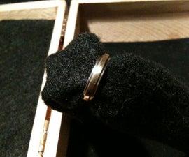 Handmade buffalo nickel ring
