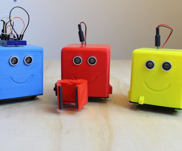 Littlebots: Simple 3D Printed Android Arduino Robots