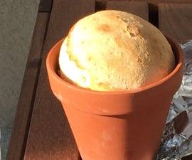 Clay Flowerpot Bread/ Camping bread