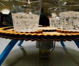 Rotating planetary party drinks