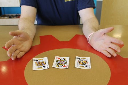 How to Deal Three-Card Monte - I Made It at Techshop Detroit!