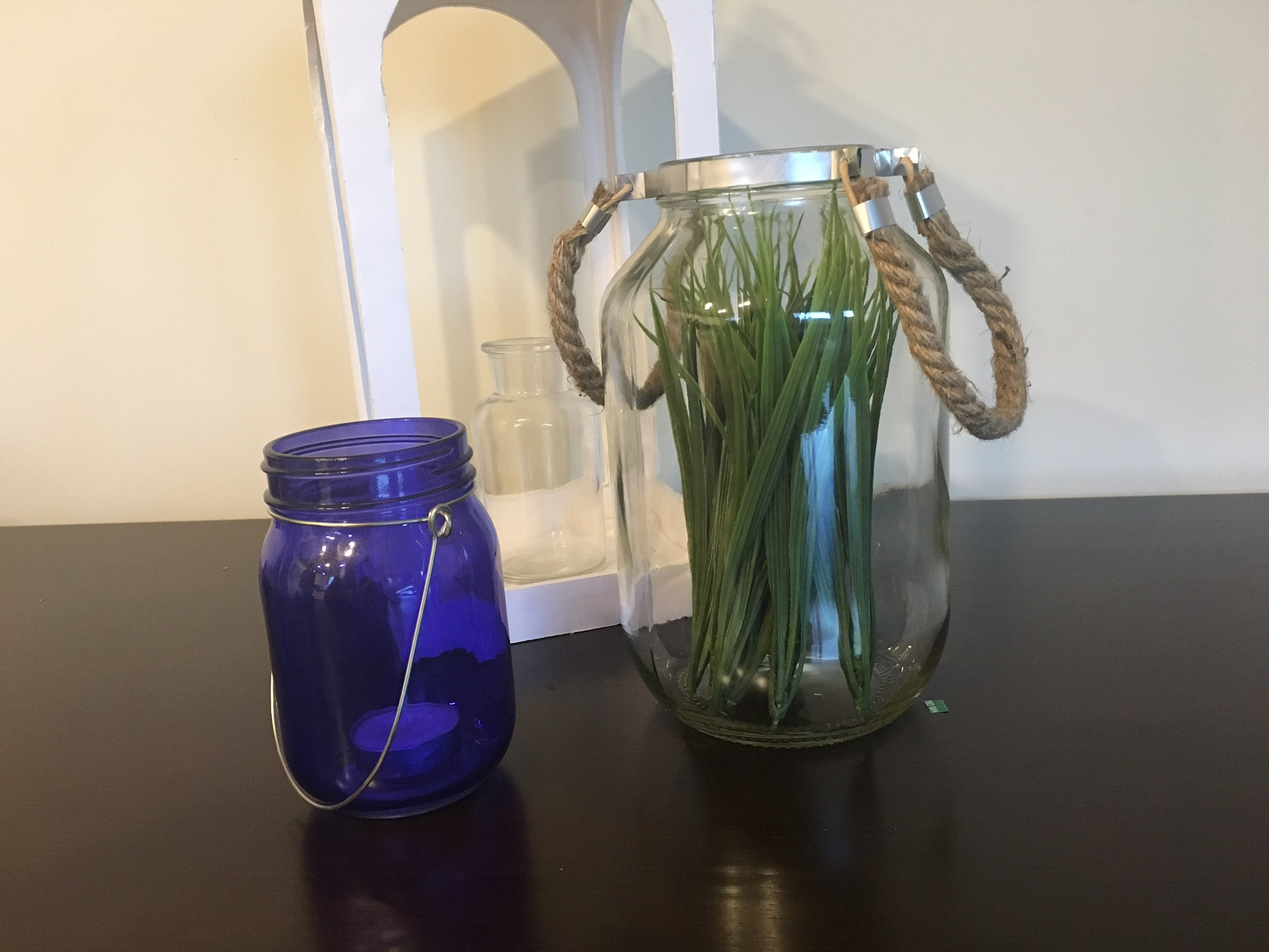 Picture of Jar Lantern Out of Trash