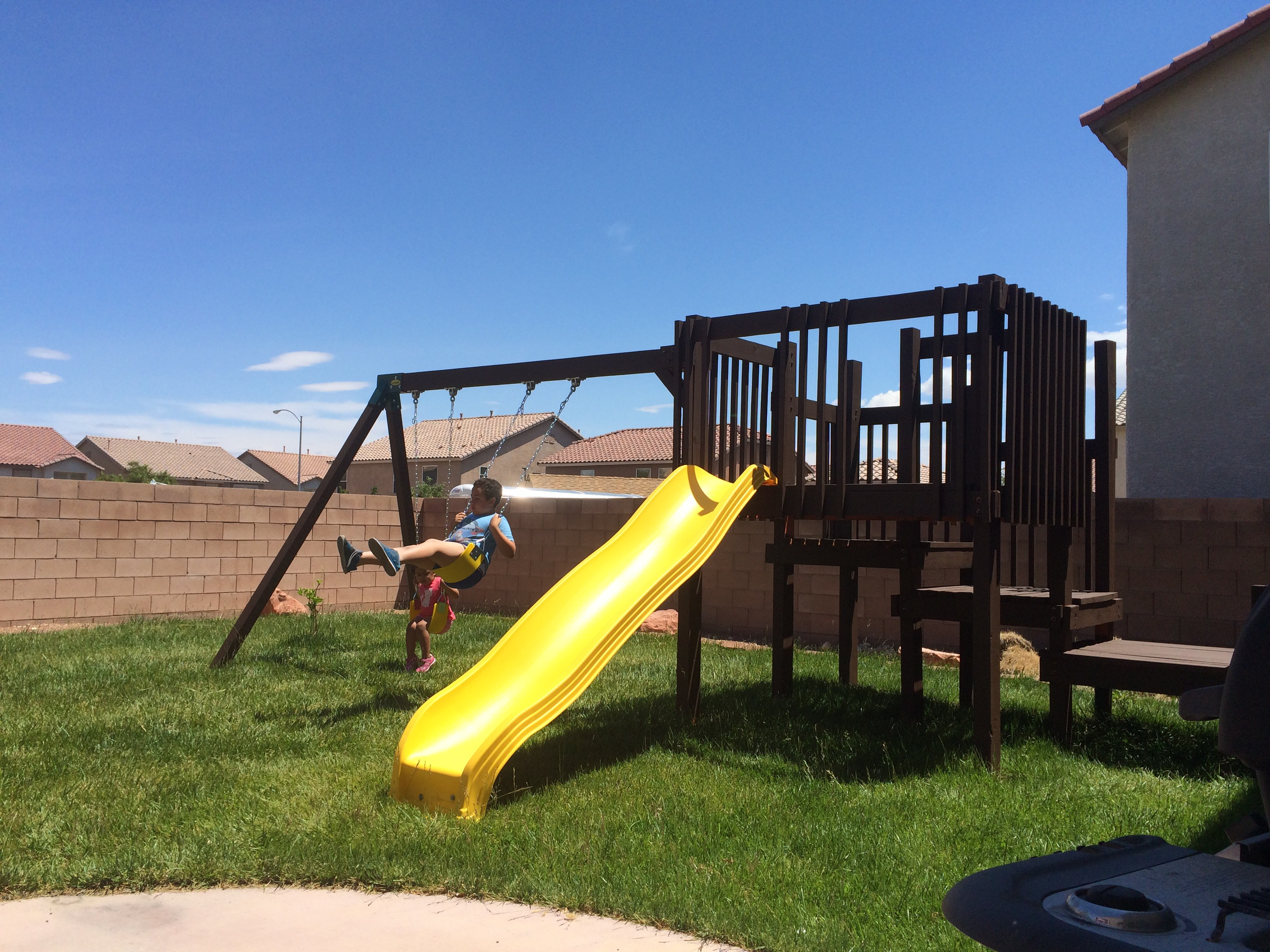 Picture of Homemade Playset