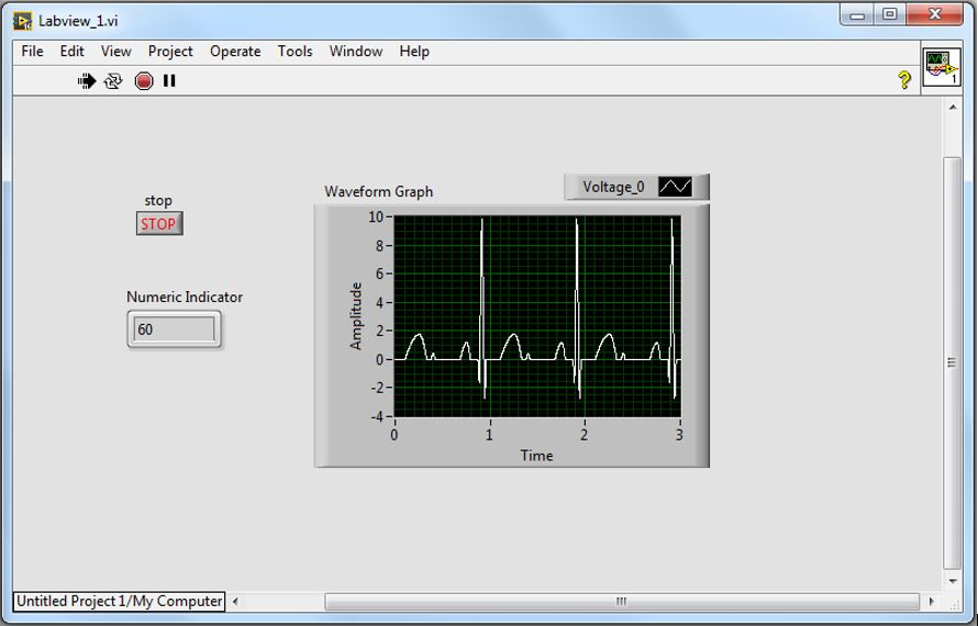 Picture of Setting Up LabVIEW