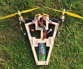 Bicopter A2212 1400Kv motors multiwii fc