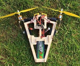 Bicopter A2212 1400Kv motors multiwii fc