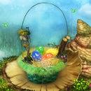My Singing Monsters Floofy Nest Easter Basket