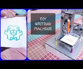 DIY Writing Machine Using Scratch