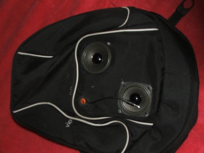 Speakers in Bag