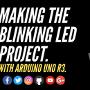 Blinking LED With Arduino Uno.