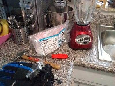 Prepping Your Dry Ice & Avocado Ice Cream Slurry