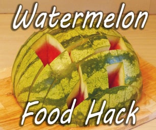 How to Prepare and Serve a Watermelon